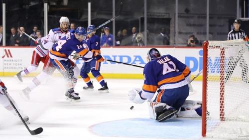 Halak Makes 50 Saves As Islanders Beat Rangers At Barclays
