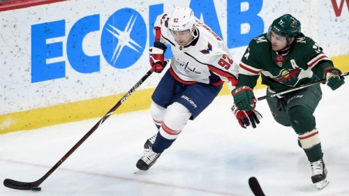 Wild fall 5-2 to Capitals to snap 13-game home point streak