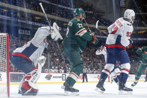 Wild Fall To Ovechkin, Capitals 5-2