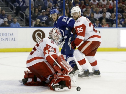 Detroit Red Wings at Tampa Bay Lightning live chat