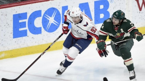 Ovechkin, Wilson lead Capitals to 5-2 win against Wild