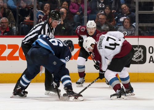 Colorado Avalanche Play One-Game Roadie in Winnipeg