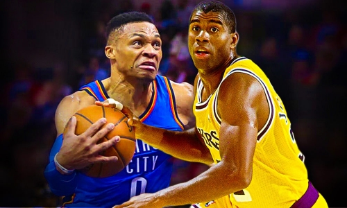 Russell Westbrook's Insane New Record That Hasn't Been Matched Since Magic Johnson