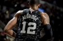 San Antonio Spurs: LaMarcus Aldridge shows off All-Star Game sneakers