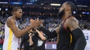 Cleveland Cavaliers' LeBron James, Golden State Warriors' Kevin Durant talk about President Donald Trump, racial divide in country