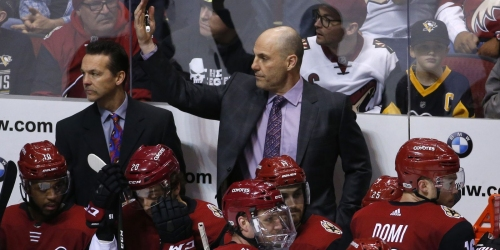 Arizona Coyotes coach Rick Tocchet stresses importance of homestand: 'Our playoffs are right now'