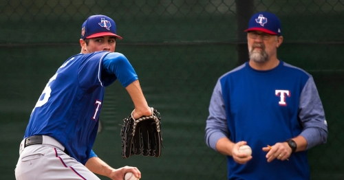 This is no mere flirtation. The Rangers intend to go with a six-man starting rotation