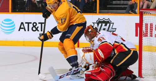 Nashville Predators 3, Calgary Flames 4: Preds Can't Comeback This Time