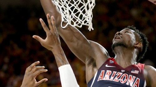 Arizona Wildcats hold off ASU for 77-70 victory after blowing big first-half lead