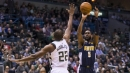 Nuggets drain 24 3-pointers in win over Bucks