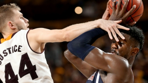 Deandre Ayton, Arizona Wildcats stand tall to win 'crazy' game in Tempe