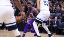 Lakers Unable to Hold Off Wolves   Los Angeles Lakers