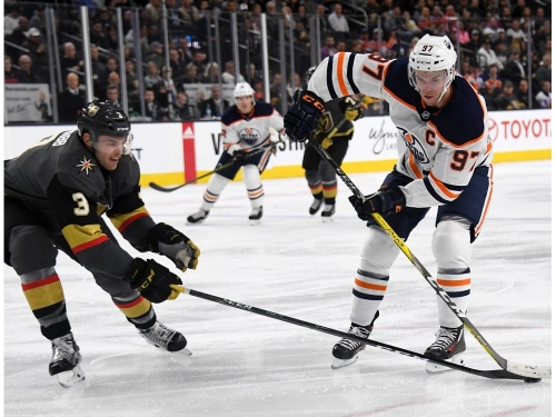 Snapshots: Edmonton Oilers can only tip hat to expansion Knights