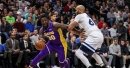 Lakers vs. Timberwolves Final Score: Young Lakers bullied by veteran-led Timberwolves in 119-111 loss