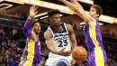 Lakers head into All-Star break on three-game losing streak after 119-111 loss to Timberwolves