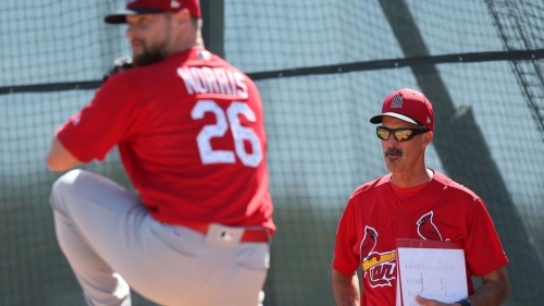 With position players set to report, Cardinals pitchers speed toward facing hitters