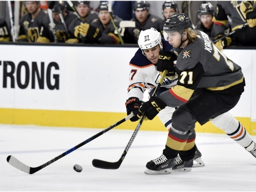 """Vegas Knights coach shrugs off win against Edmonton Oilers: """"We didn't play a great game"""""""