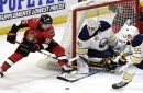 Gaborik sets the table, Hoffman finishes it off for Senators