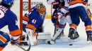 Halak makes 50 saves as Isles blank Rangers