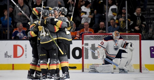 Golden Knights shut down McDavid, beat Oilers for first time in 4-1 rout