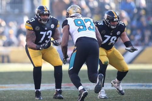 NFL.com loses all credibility by having the Steelers' offensive line 8th in the NFL