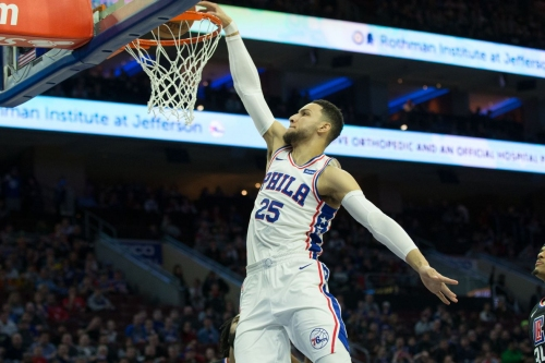 Simmons missing the All-Star game may actually be a good thing