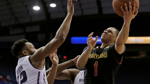 Northwestern blows another double-digit lead in 71-64 loss to Maryland