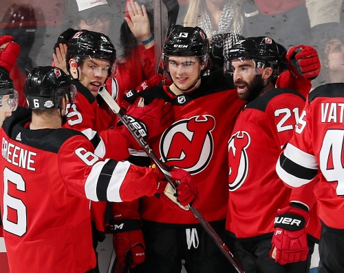 New Jersey Devils: Nico Hischier Makes History In One Week