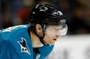 Sharks forward doesn't want to be moved at trade deadline