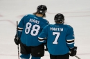 Yikes! Brent Burns' status is officially in question as Sharks recall familiar face
