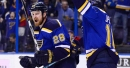Blues juggle lines vs. Sharks in attempt to halt three-game skid