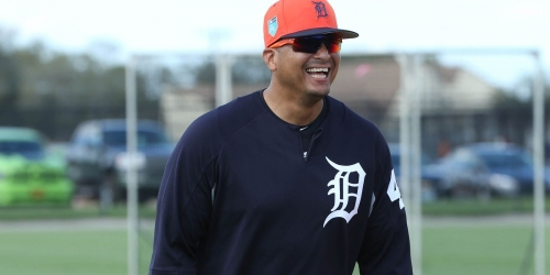 Detroit Tigers' Victor Martinez reports good health for likely final season