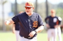 The Detroit Tigers host their first full-squad spring training practice Monday