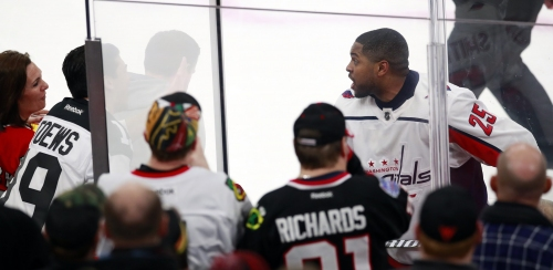 Blackhawks ban fans after racist chants directed at Capitals' Devante Smith-Pelly