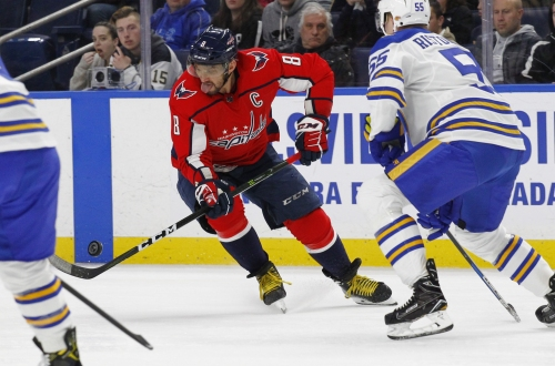 Alex Ovechkin scores 35th goal in Capitals' win over Sabres