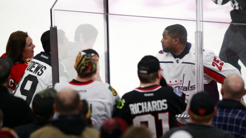Chicago Fans Bounced For Racist Taunts Aimed At Capitals' Devante Smith-Pelly