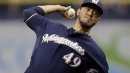 Yovani Gallardo hopes to resurrect career in second stint with Brewers