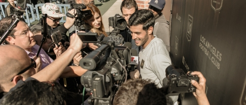 Carlos Vela nets preseason brace for LAFC in 4-4 draw with Vancouver