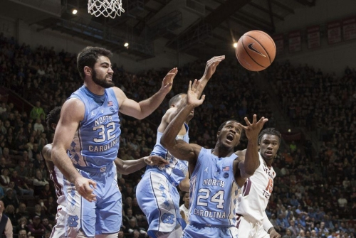 Not enough sources: Tar Heels dry up on offense, struggle to slow down Hokies