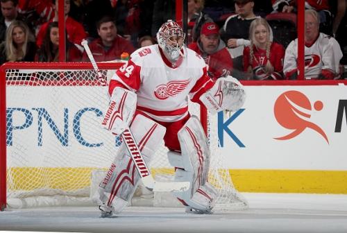 Philadelphia Flyers acquire goalie Petr Mrazek from Detroit Red Wings