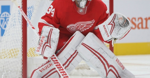 The Petr Mrazek era with Detroit Red Wings