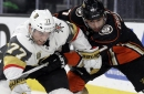 Ducks top Golden Knights 2-0 for 4th win in 5 road games