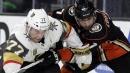 NHL roundup: Ducks blank Knights