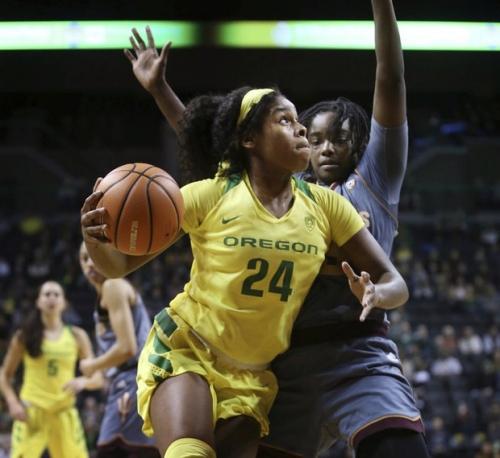 Oregon's Ruthy Hebard sets all-time NCAA shooting record