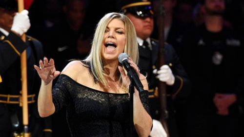 Fergie says 'tried my best' after national anthem blowback | The Kansas City Star