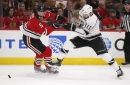 Blackhawks struggle to get offense going early