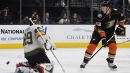 Ducks shut out division-leading Golden Knights