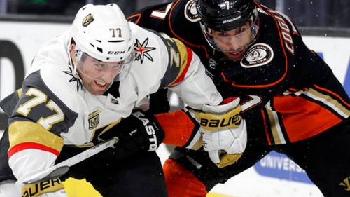 Ducks top Golden Knights 2-0 for 4th win in 5 road games | The News Tribune