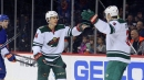 Wild ride big second period to 5-3 win over Islanders