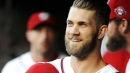 Washington Nationals outfielder Bryce Harper says his focus is on 2018